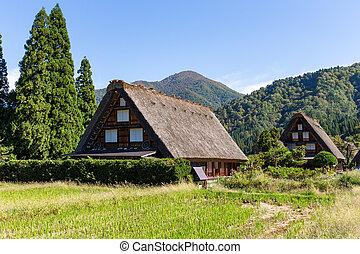 World heritage Shirakawa-go