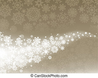 Light elegant abstract Christmas background. EPS 8 - Light...
