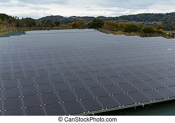 Solar power energy plant