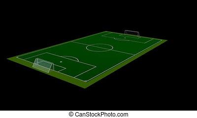 Football / Soccer Field