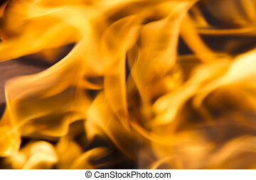 Fire. Blaze fire flame texture background. Explosion fire, fire background.