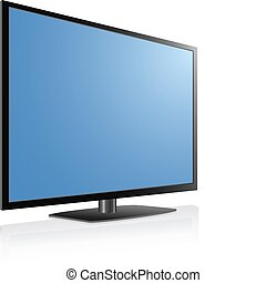 LCD, LED, Plasma TV - Black LCD, LED, Plasma TV , Blue...