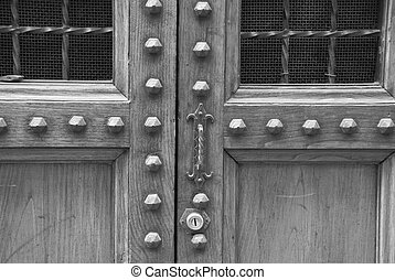 Old Wooden Door, Florence