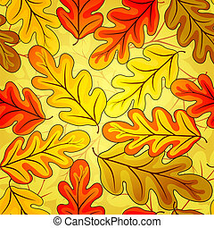 Floral seamless  autumn`s pattern
