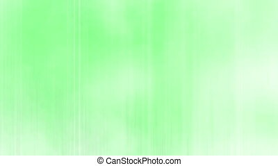 Green and white abstraction streaks and blur looping...