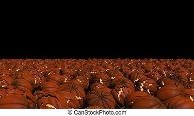 Pumpkins for halloween - Set of pumpkins for halloween