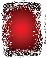 An abstract Christmas vector illustration