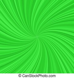 Abstract green spiral background