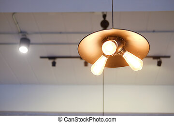 Lighting equipment in interior home