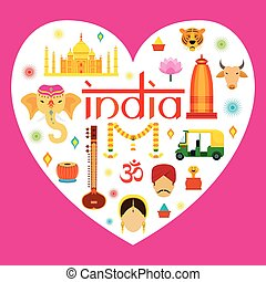 India Travel Attraction - Landmarks, Tourism and Traditional...
