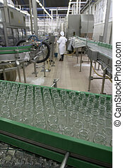 food industry new - interior of food industry production of...