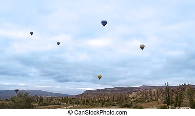 Cappadocia turkey nature baloon fly fairy chimney miracle...