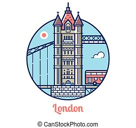 London Bridge Icon