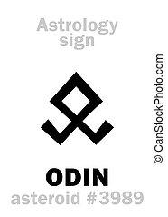 Astrology: asteroid ODIN - Astrology Alphabet: ODIN (Woden),...