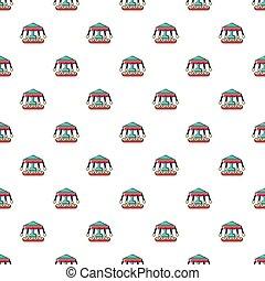 Carousel pattern seamless