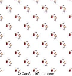Baby hobbledehoy pattern seamless - Baby hobbledehoy pattern...