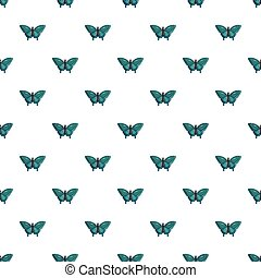 Butterfly morpho anaxibia pattern seamless