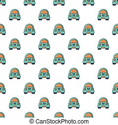 Toy car pattern seamless