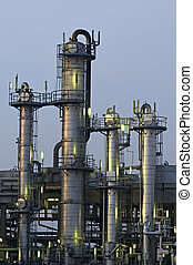 Chemical Towers - High Dynamic Range impression of chemical...