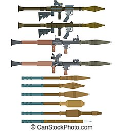 Soviet rocket launchers and grenades for RPG-7 - Soviet and...