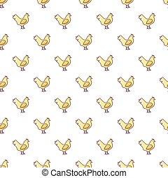 Chicken pattern seamless
