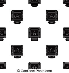 Award in the form of a video tape for best actor.Movie awards single icon in black style vector symbol stock illustration.