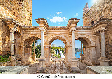 Hadrian's Gate - entrance to Antalya, Turkey - Welcome to...