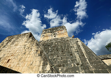itza, Chichen, norte, México, Maya, peninsular, Yucatán,...