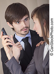 conflict in office - conflict situation in office -...