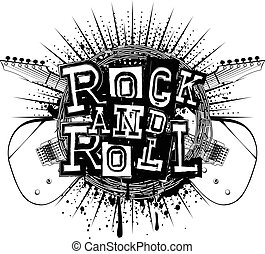 guitar rock and roll_var 3