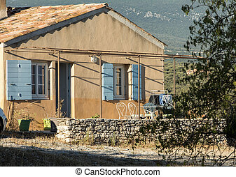 Old House in the Provence, southern France
