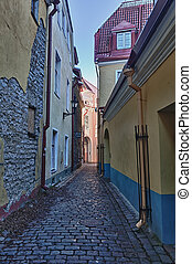 Old house in Toompea - Old Tallinn house in Toompea near the...