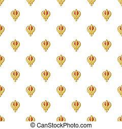Khanda symbol sikhism religion pattern seamless - Khanda...