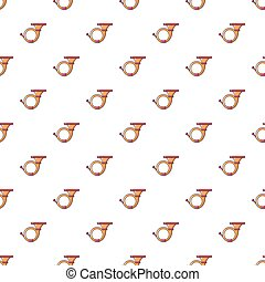 Cornet pattern seamless - Cornet pattern in cartoon style....
