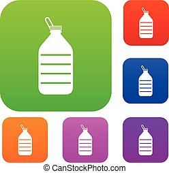 Large bottle of water set collection