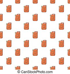 Canister of gasoline pattern seamless
