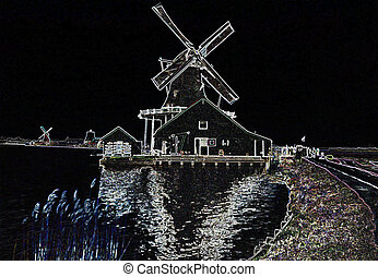 Holland Windmill Lines