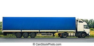 linehaul truck