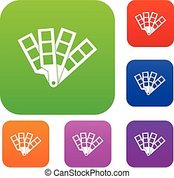 Color palette guide set collection - Color palette guide set...