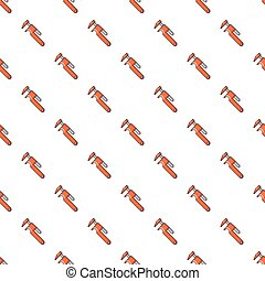 Adjustable wrench pattern seamless - Adjustable wrench...