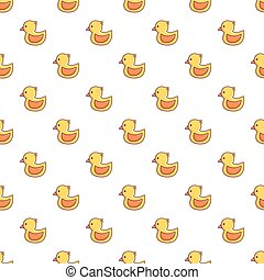 Rubber duck toy pattern seamless - Rubber duck toy pattern...