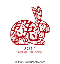 Chinese Year of the Rabbit 2011 - Year of the Rabbit 2011...