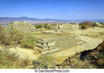 Complex of Monte Alban, Mexico - Complex of Monte Alban...