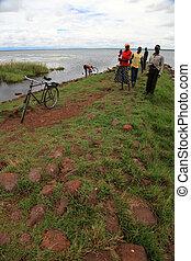 Lake Landscape - Lake Bisina - Uganda, Africa - Lake Bisina...