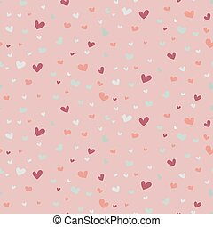 Wedding abstract seamless pattern in pastel soft colors....