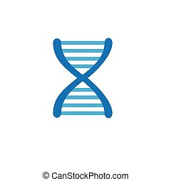 Ancestry or Genealogy Icon and DNA helix - Ancestry or...