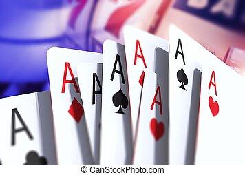 Blackjack Game Cards - Twenty One. Blackjack Game Cards...