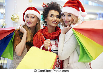 Shopping bags full of wonderful gifts