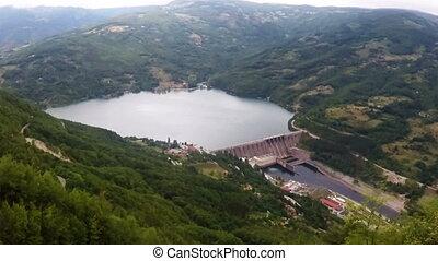 hydroelectric power plant landscape