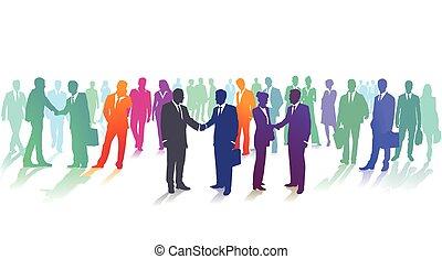 Zusammenkunft Treffen.eps - Meeting Conference discussion,...